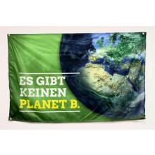 """Fahne """"Es gibt keinen Planet B"""""""