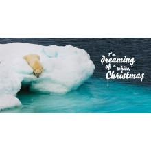 """Weihnachtskarte """"Eisbär"""""""