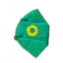 FFP2 Schutzmaske mit Sonnenblume
