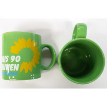 Grüne Kaffeetasse