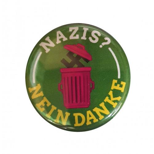 "Button ""Nazis? Nein danke!"""