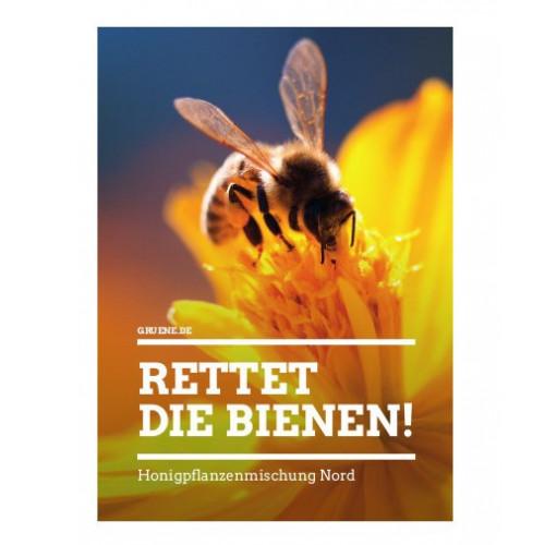 Saattütchen Bienen-Blumen Nord