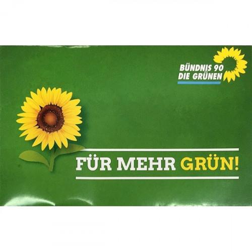 """Sonnenblumensamen """"Für mehr GRÜN!"""""""