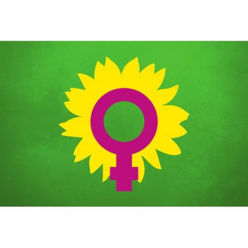 Frauenlogo-Fahne